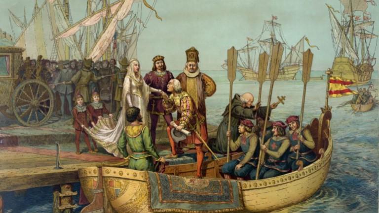 Comienza segundo viaje Colón