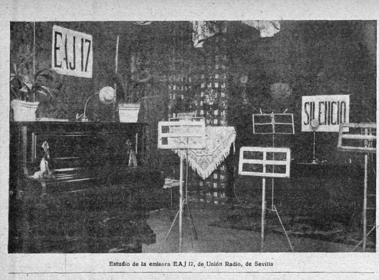 Resultado de imagen de union radio sevilla