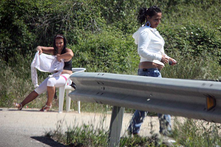 prostitutas en la calle follando prostitutas carretera