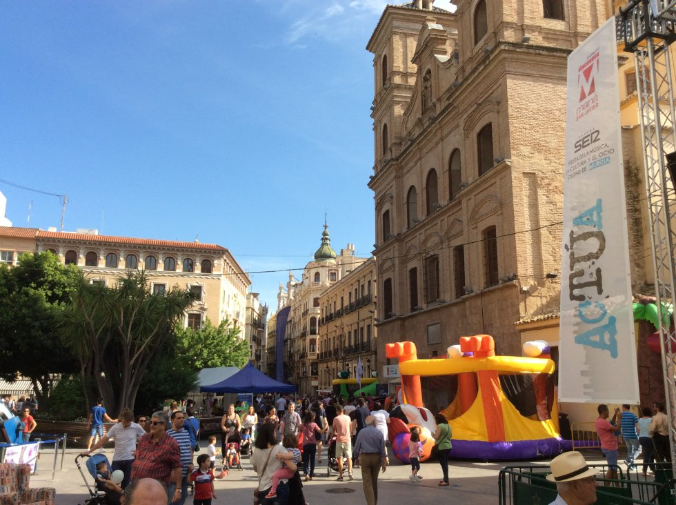 Diversión a miles en Actúa Murcia