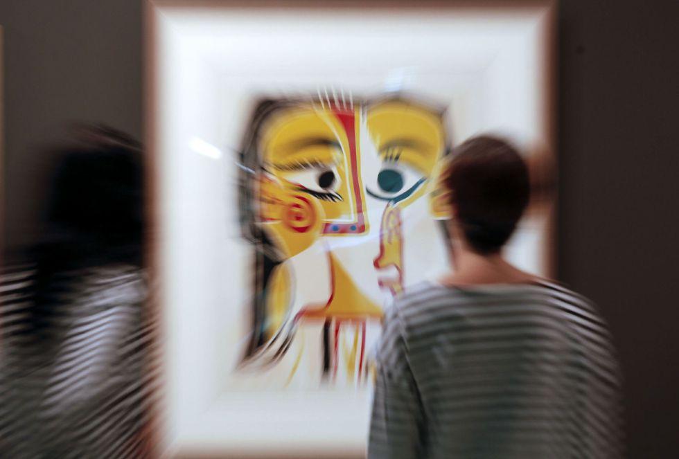 """Retrato estilizado de Jacqueline"", 1962, de Pablo Picasso"