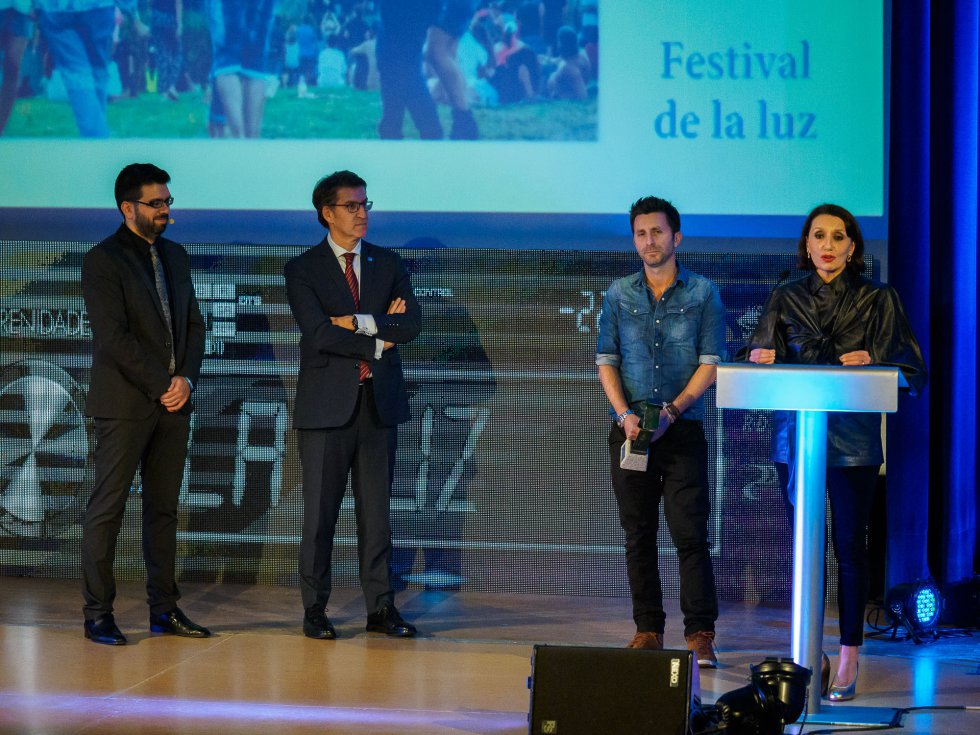 Momento del discurso de Luz CAsal