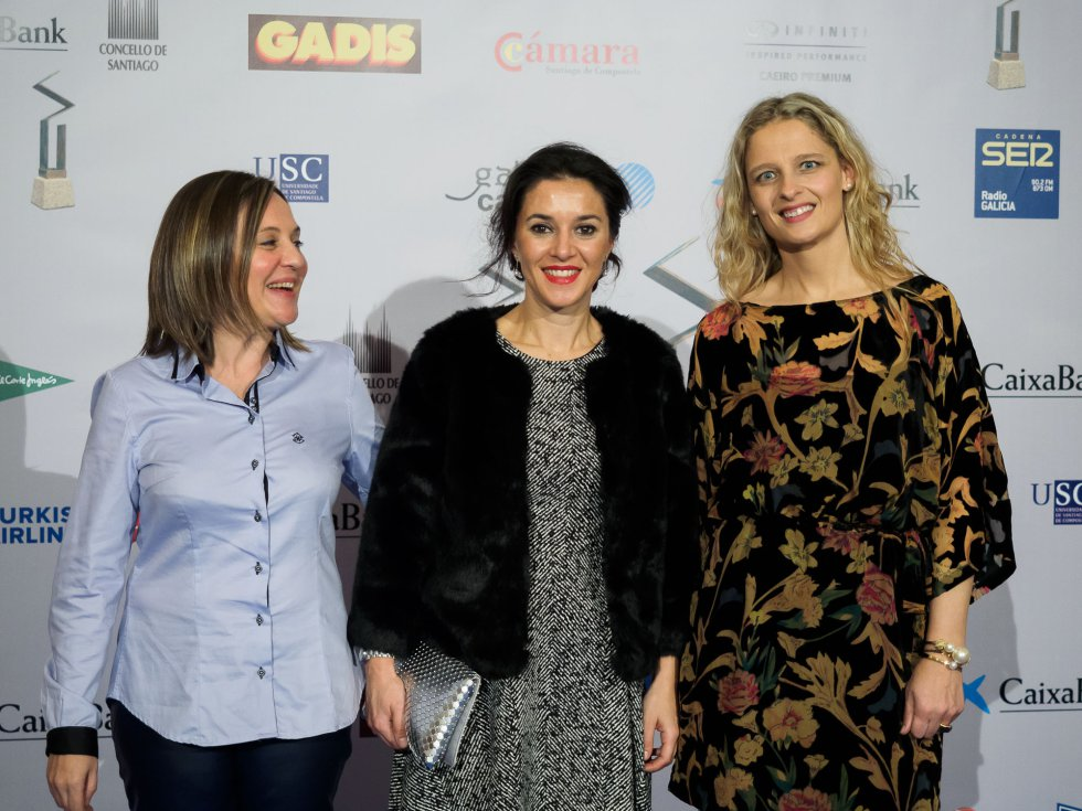 Eva, Carme Seoane y Ana