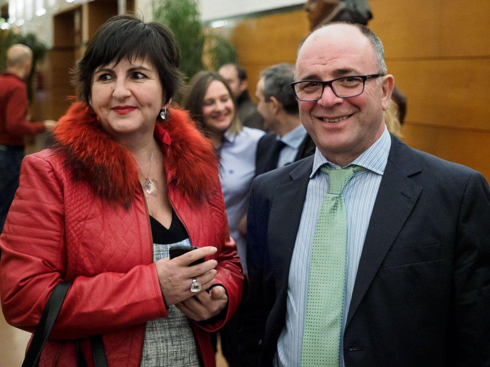 Alvaro Seivane y Mari Dovi