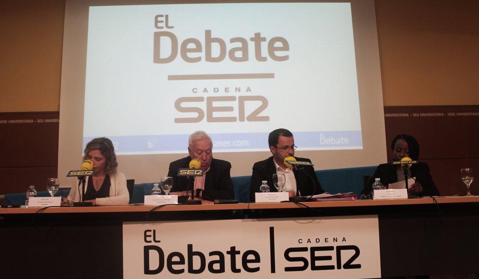 El debate en 30 imágenes