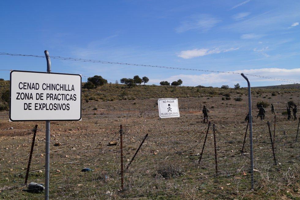 Los ejercicios se han realizado en el CENAD (Centro Nacional de Adiestramiento) de Chinchilla
