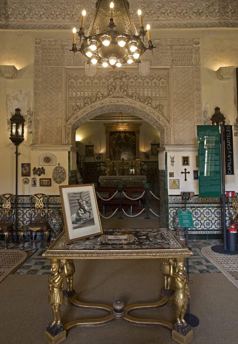 La Capilla, una de las estancias de la Casa Palacio de las Dueñas