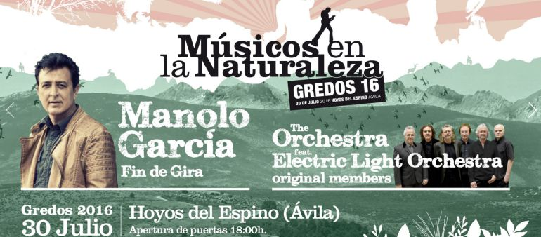 Manolo García y la Electric Light Orchestra encabezan el cartel