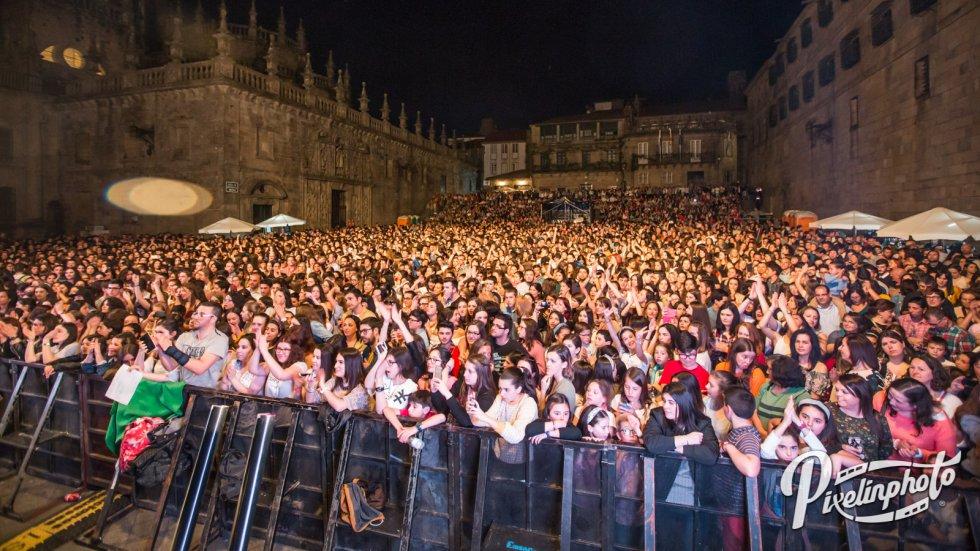 Fotogaleria del concierto Santiago 40 Pop