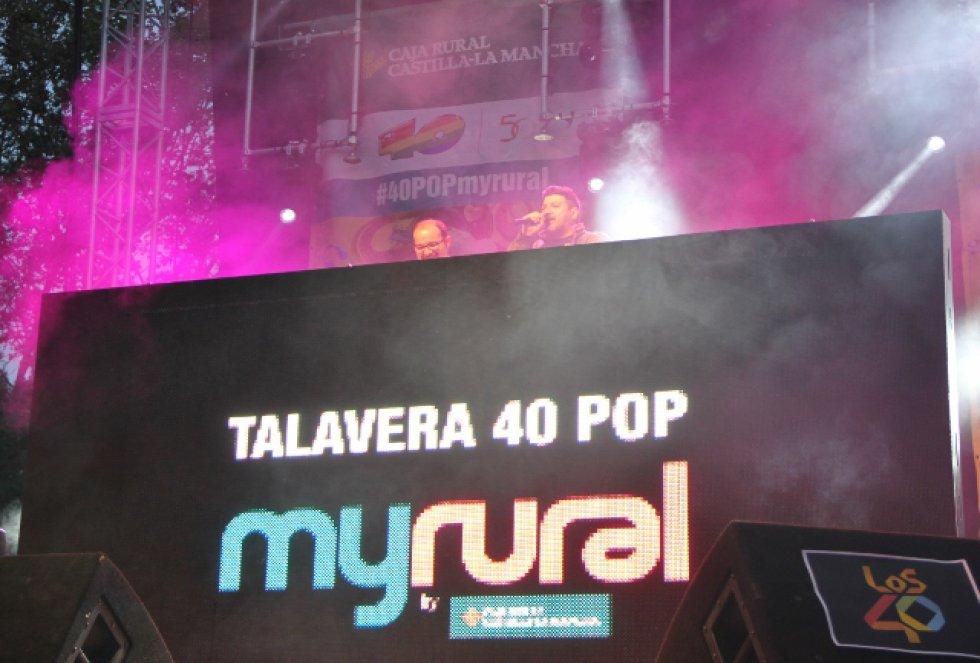 Música 40 POP Concierto: #40POPmyrural en Talavera de la Reina