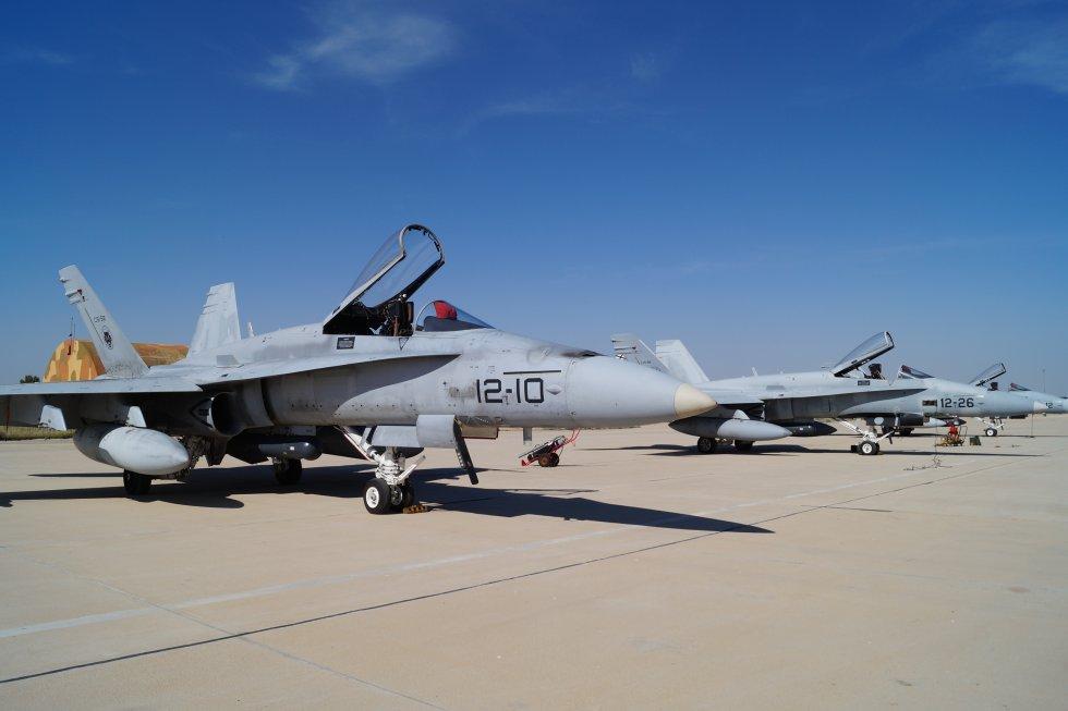 En las maniobras han participado 3 aviones. 1 de ellos ha quedado de reserva