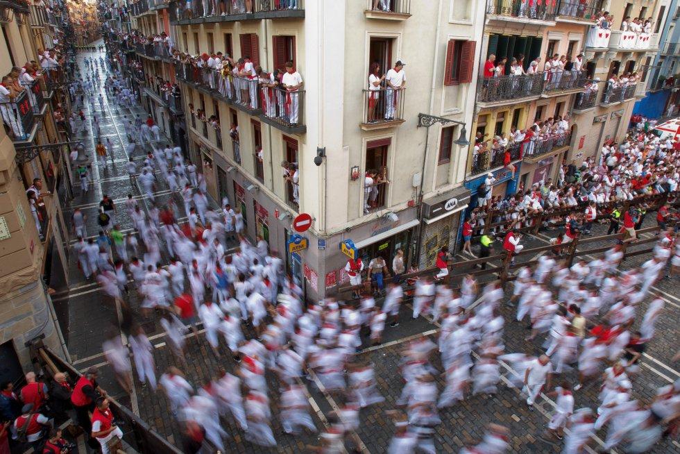 San Fermín: Las mejores fotos del primer encierro
