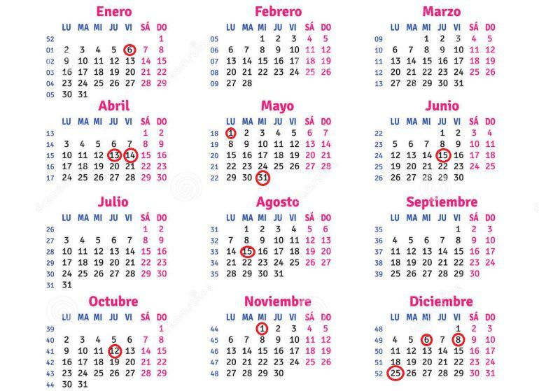 Calendario Laboral Castellon.Estos Son Los Dias Festivos Del Calendario Laboral De Castilla La