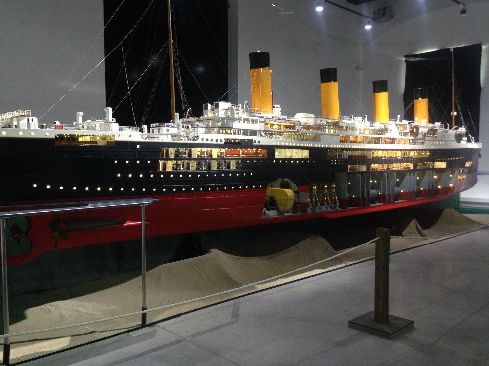 La mayor maqueta del mundo del 'Titanic'