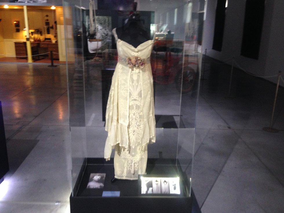 Vestido original de la época del 'Titanic'