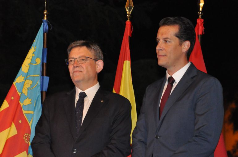 Ximo Puig y Rubén Alfaro