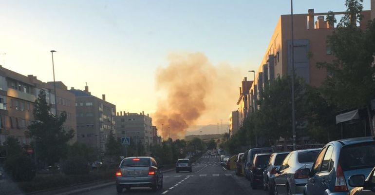 Incendios San Sebastian De Los Reyes Dos Incendios En La Misma Zona