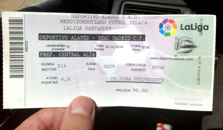 Real Madrid Entradas Partidos
