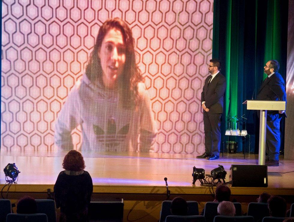 Vero Boquete agradece a través de video el premio SERenidade que ha recogido su madre