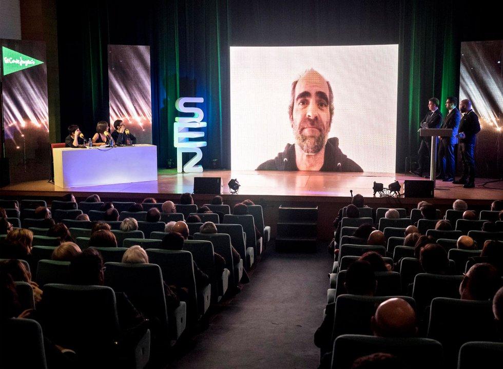 Luis Tosar agradece a través de video el premio SERenidade