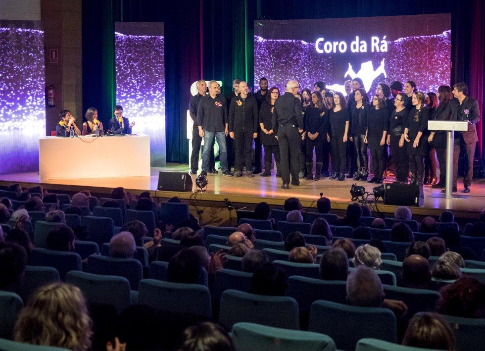 El Coro da Rá cerrando la gala