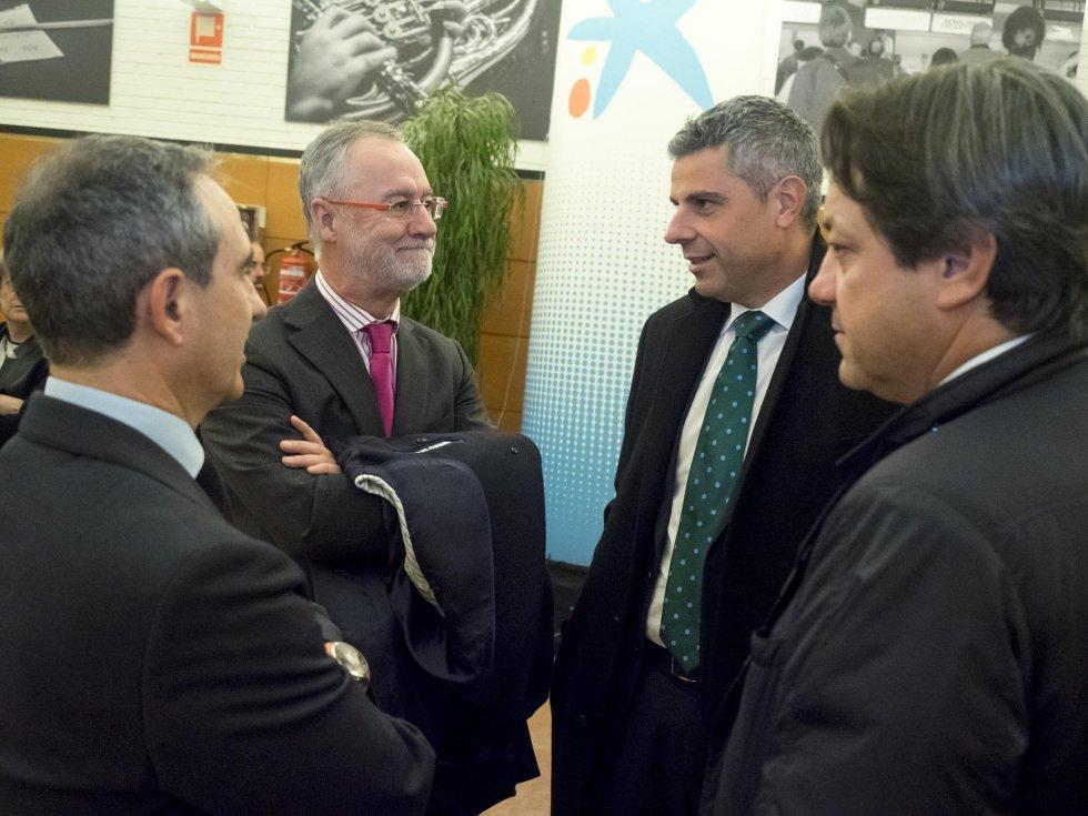 Marc A. Benhamou y Antonio Lema, de Caixa Bank