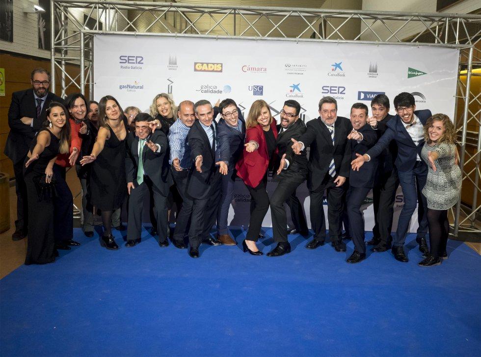 Gran parte del equipo de Radio Galicia