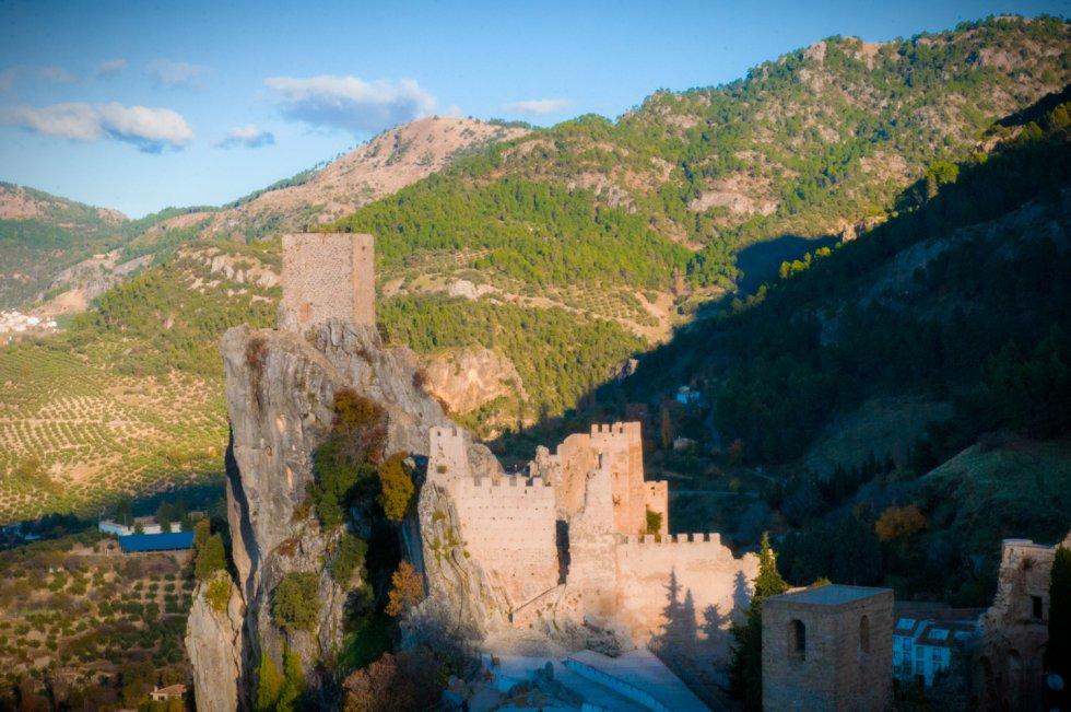 Imponente castillo de La Iruela que domina toda la sierra.