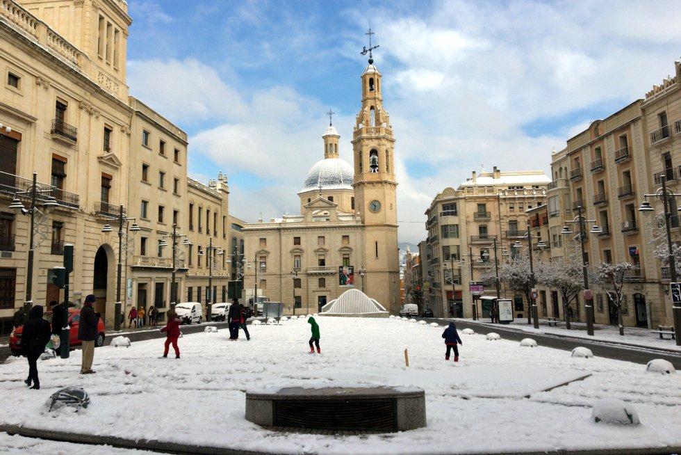 Centro de la ciudad de Alcoi.