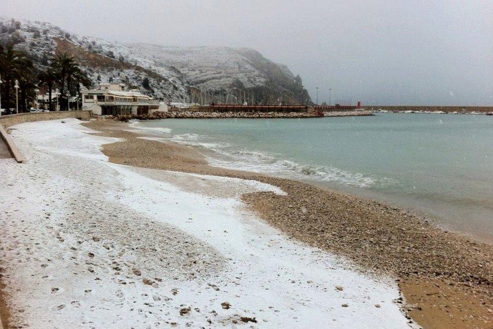 Playa del Arenal de Xàbia.