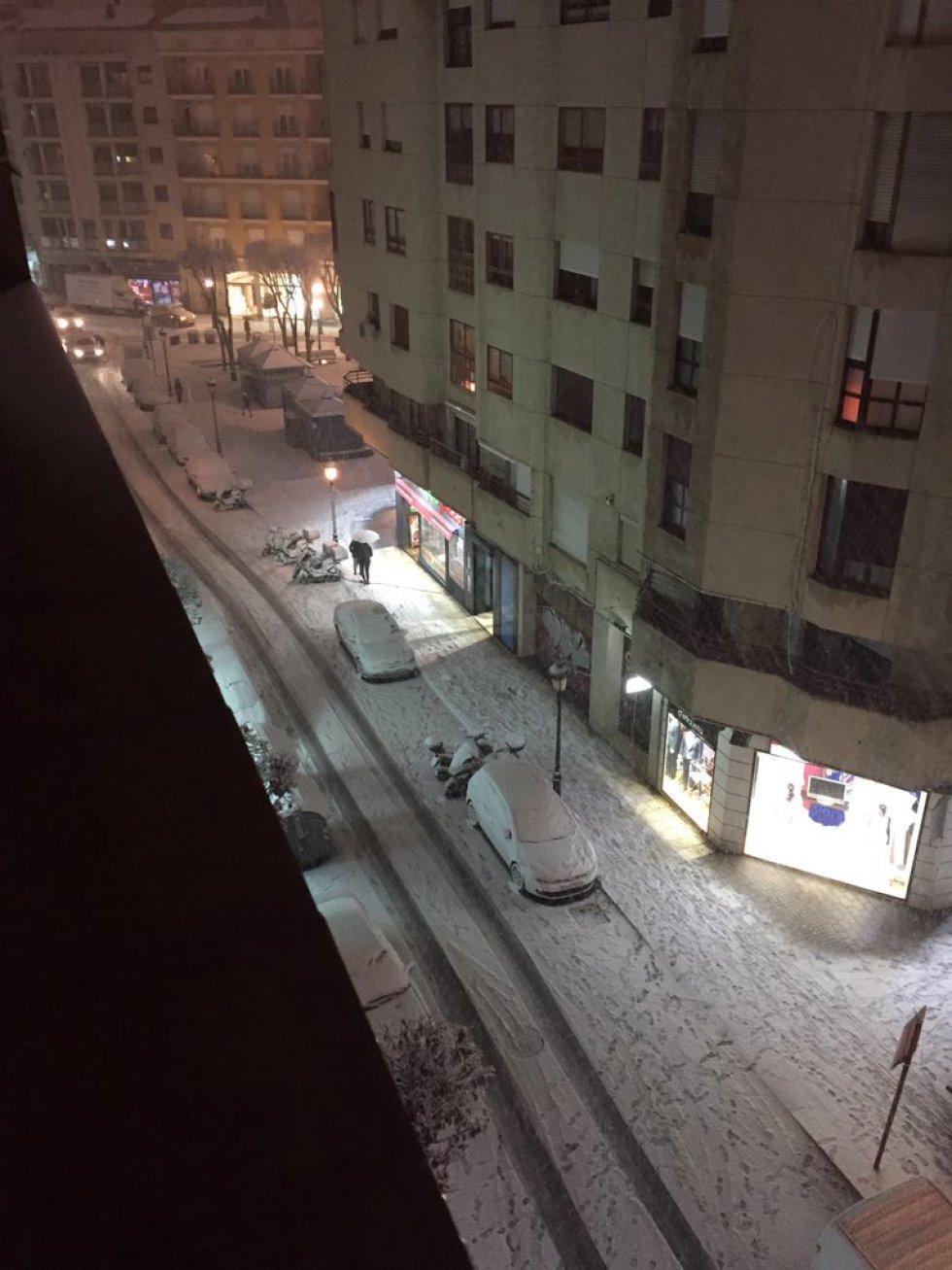 Otra de las calles de la capital albaceteña