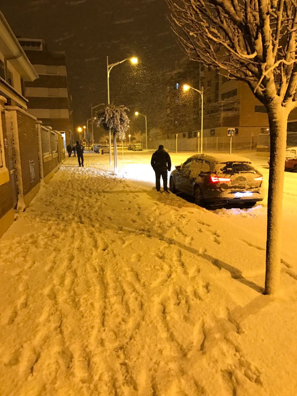 Más estampas invernales de la capital albaceteña