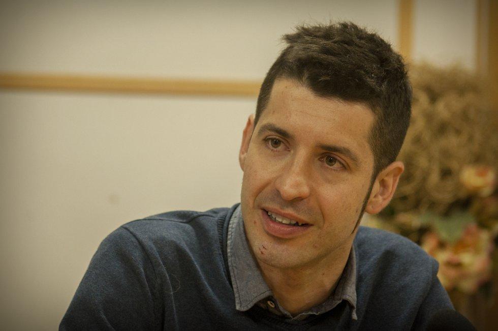 El profesor de Diseño Gráfico de la Escuela de Arte 'José Nogué' de Jaén, Carlos Campos.