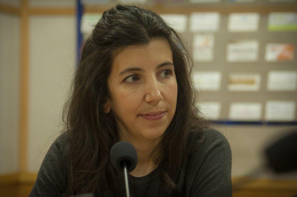 La coordinadora de enseñanzas artísticas superiores de la Escuela de Arte 'José Nogué' de Jaén, Vicky Rodríguez.