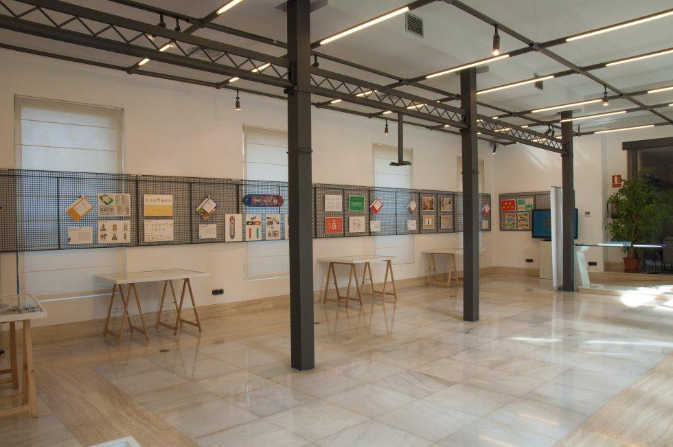 Sala de exposiciones del Colegio de Arquitectos de Jaén.