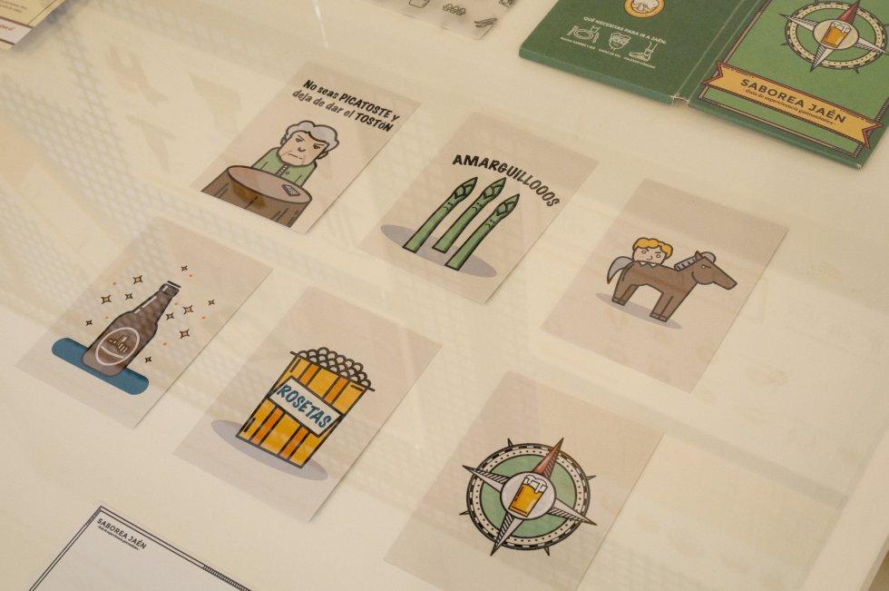 Rosa Quesada ha realizado 'Guía Saborea Jaén'. Se puede ver en el Colegio de Arquitectos.