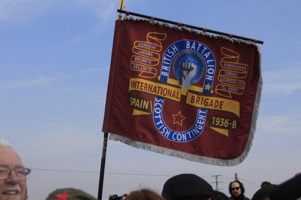 Estandarte de la International Brigade