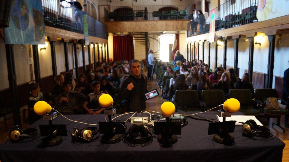 FOTOGALERÍA   Hoy por Hoy Toledo desde el IES Sefarad