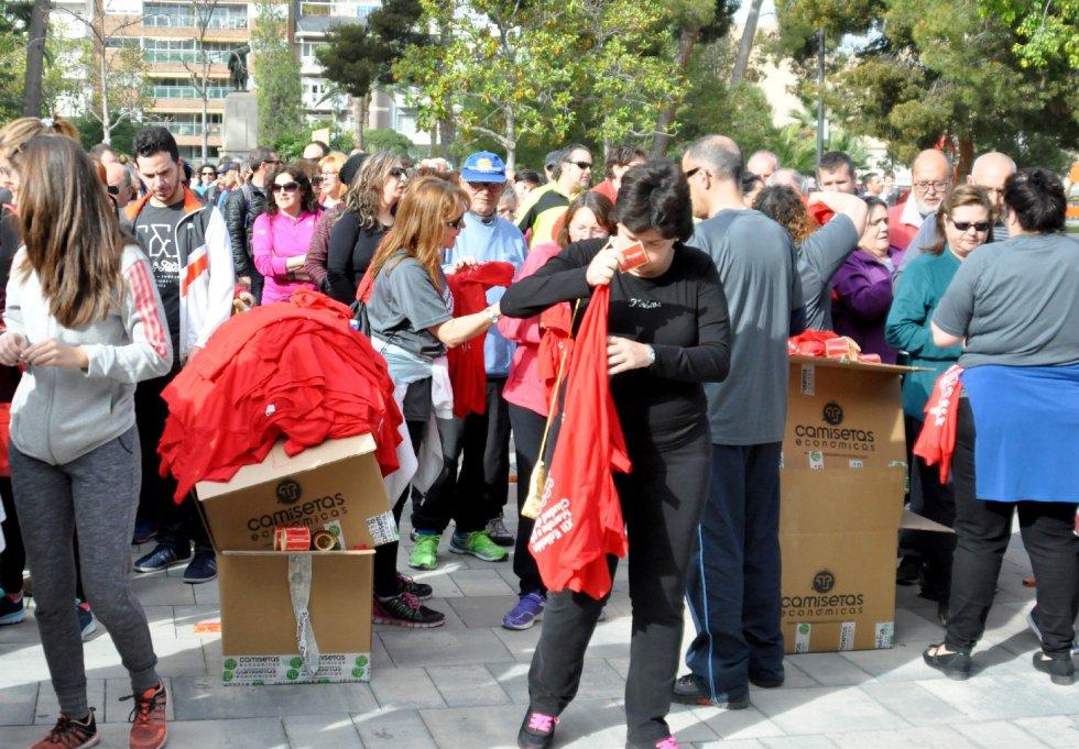 FOTOGALERÍA | XII Edición Marcha a Pie Elda Anda