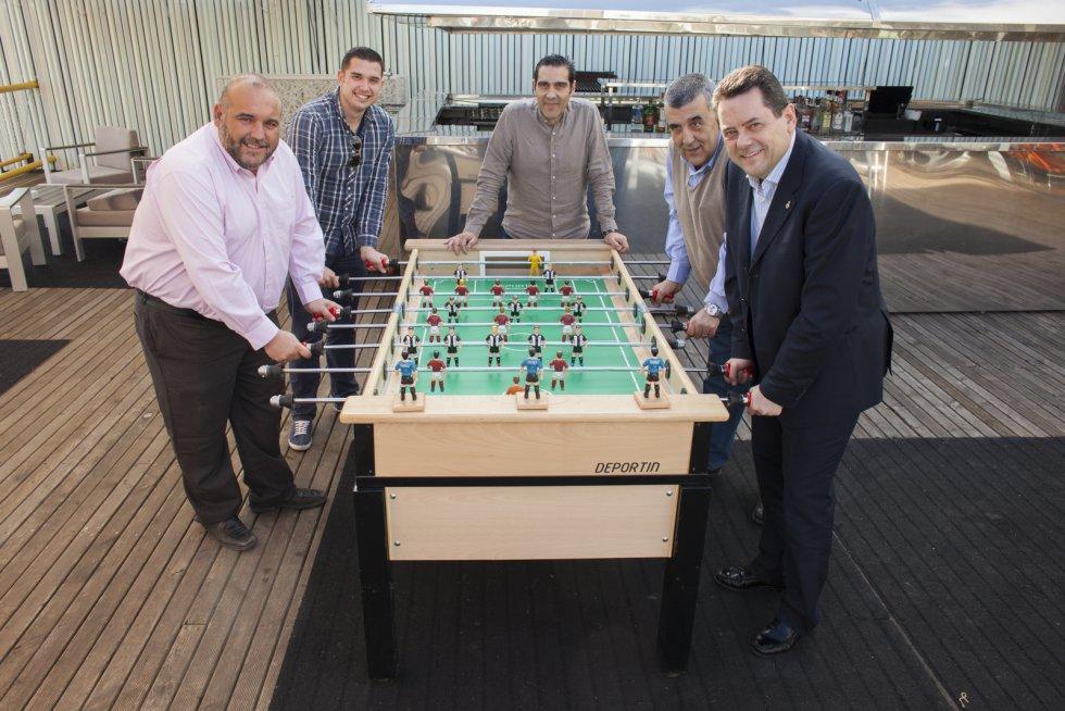 Breis, Jorge Fernández-Caro, A. Egea, Manolete y Roncero (Foto: Pascu Méndez)
