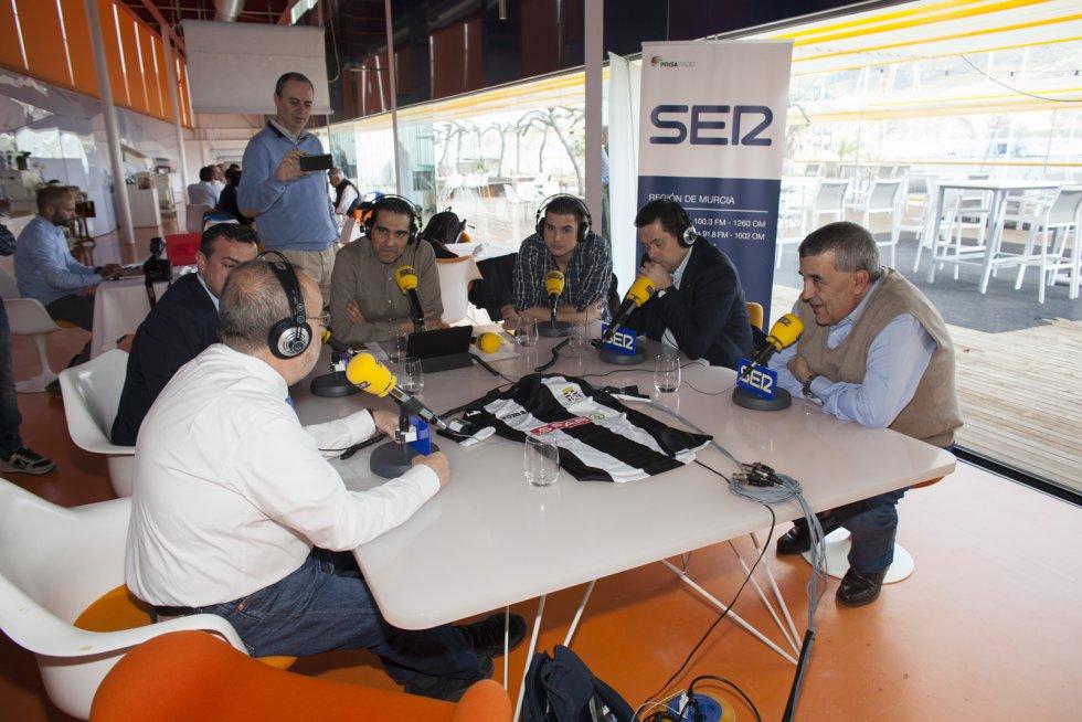 Manolete y Tomás Roncero también se sumaron al Ser Deportivos (Foto: Pascu Méndez)