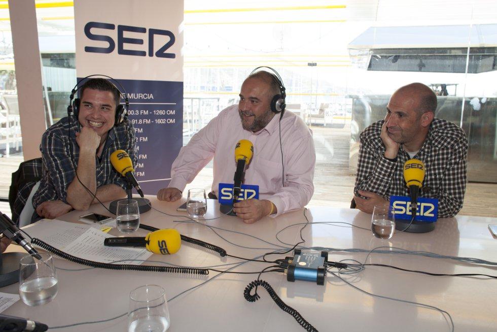 Jorge Fernández-Caro, Manuel Sánchez Breis y Alberto Monteagudo (Foto: Pascu Méndez)