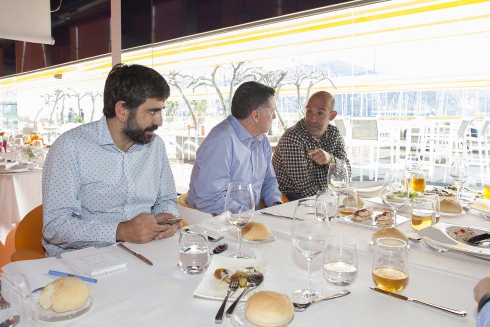 Alberto Monteagudo charla con Xavi Juliá (Foto: Pascu Méndez)