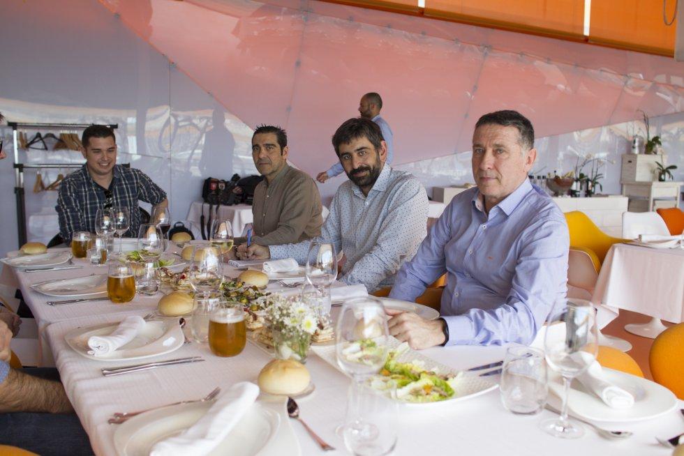Jorge Fernández-Caro, Andrés Egea, José A. Vera y Xavi Juliá (Foto: Pascu Méndez)