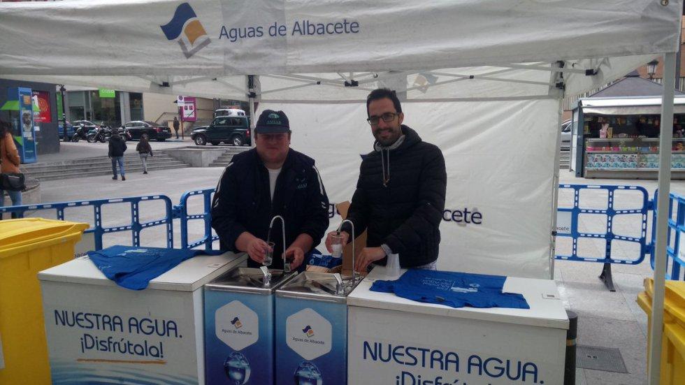 El Día Mundial del Agua en Albacete, en imágenes