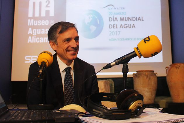 Francisco Bartual, director general de Aguas de Alicante