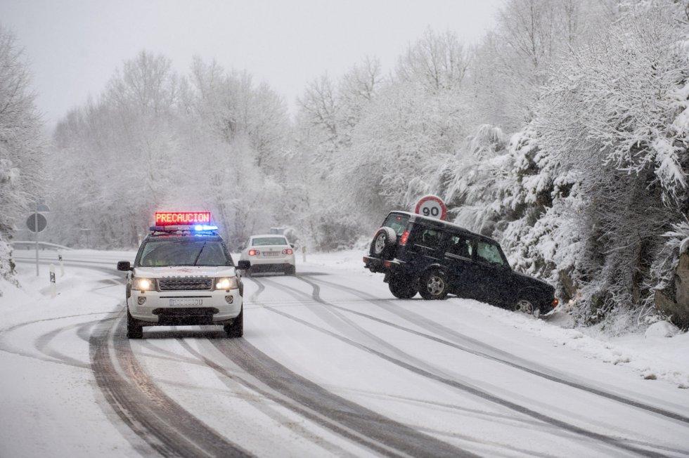 Algunos accidentes inevitables. Montederramo, (Ourense)