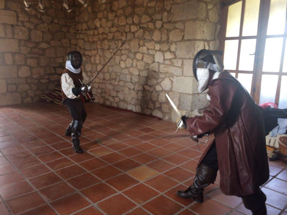 Las imágenes de la jornada de recreación histórica en Alcalá del Júcar