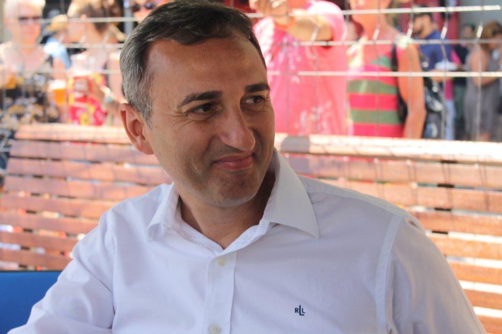 César Sánchez, presidente de la Diputación de Alicante