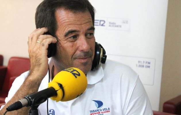 Guillermo Beltri, director deportivo del Club de Regatas de Alicante
